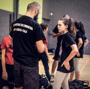 explication d'une technique de Krav Maga