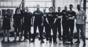 photo du groupe de self-défense