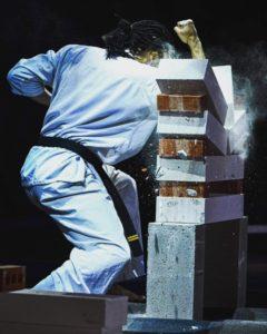 karaté Kyokushinkai démonstration