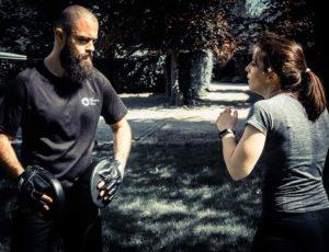 Reduan en coaching avec Coralie