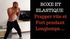 Boxe avec élastique