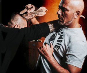 défense contre un couteau en Krav Maga